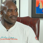 Evander Holyfield TV Crews